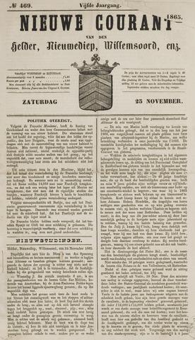 Nieuwe Courant van Den Helder 1865-11-25