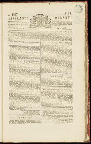Alkmaarsche Courant 1847-04-26