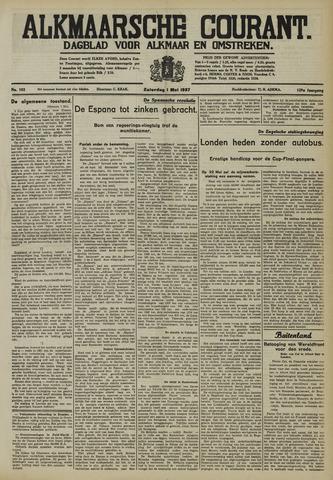 Alkmaarsche Courant 1937-05-01