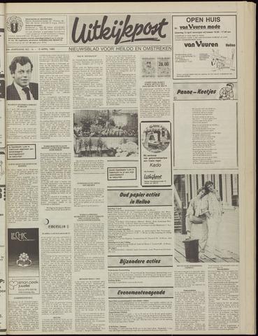 Uitkijkpost : nieuwsblad voor Heiloo e.o. 1985-04-10