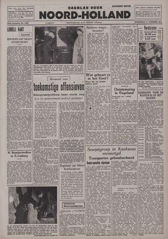 Dagblad Noord-Holland, Schager editie 1942-10-14
