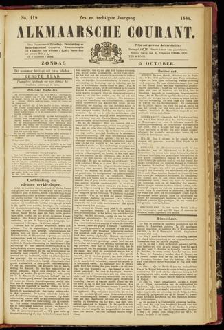 Alkmaarsche Courant 1884-10-05