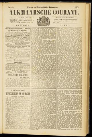 Alkmaarsche Courant 1897-04-21