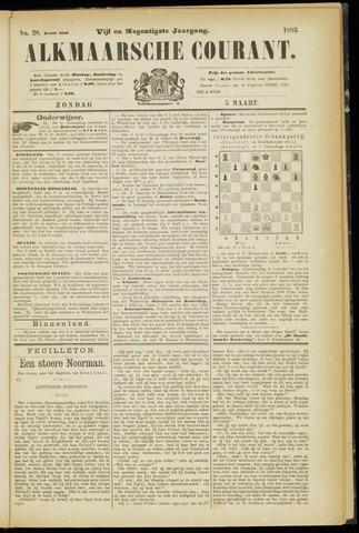 Alkmaarsche Courant 1893-03-05