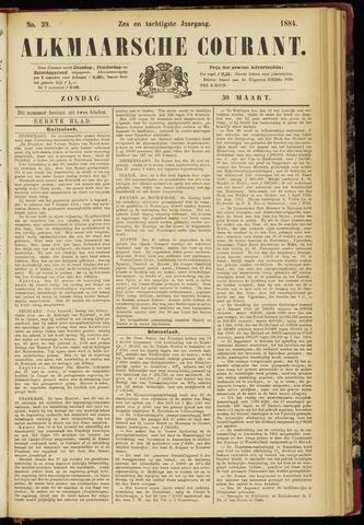 Alkmaarsche Courant 1884-03-30