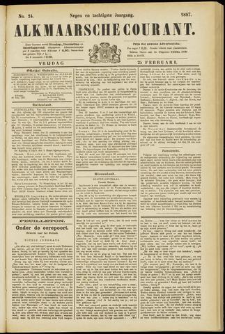 Alkmaarsche Courant 1887-02-25