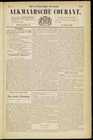 Alkmaarsche Courant 1893-01-18