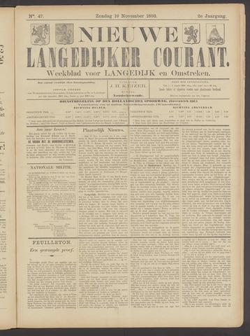 Nieuwe Langedijker Courant 1893-11-19
