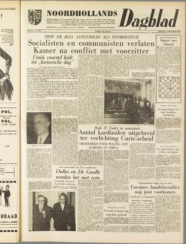 Noordhollands Dagblad : dagblad voor Alkmaar en omgeving 1958-12-16