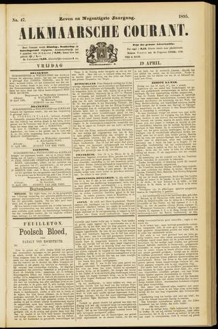 Alkmaarsche Courant 1895-04-19