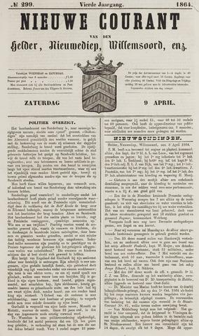 Nieuwe Courant van Den Helder 1864-04-09