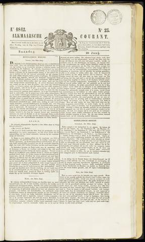 Alkmaarsche Courant 1842-06-20