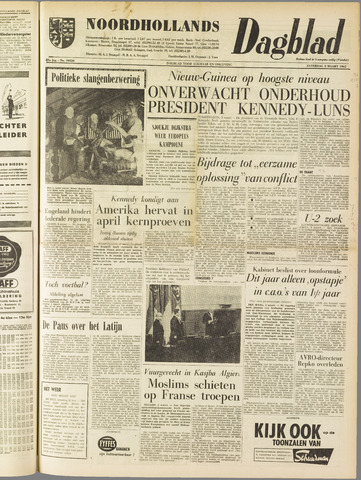 Noordhollands Dagblad : dagblad voor Alkmaar en omgeving 1962-03-03