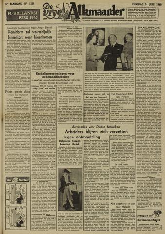 De Vrije Alkmaarder 1949-06-14