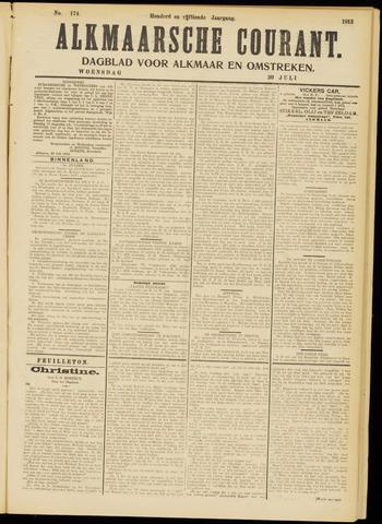 Alkmaarsche Courant 1913-07-30