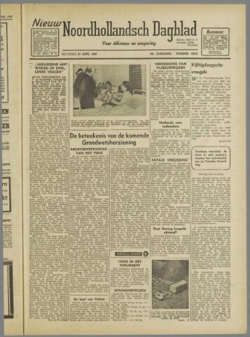 Nieuw Noordhollandsch Dagblad : voor Alkmaar en omgeving 1946-04-27