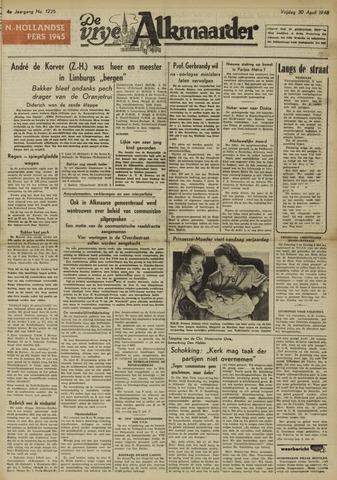 De Vrije Alkmaarder 1948-04-30