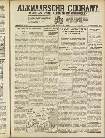 Alkmaarsche Courant 1941-03-05