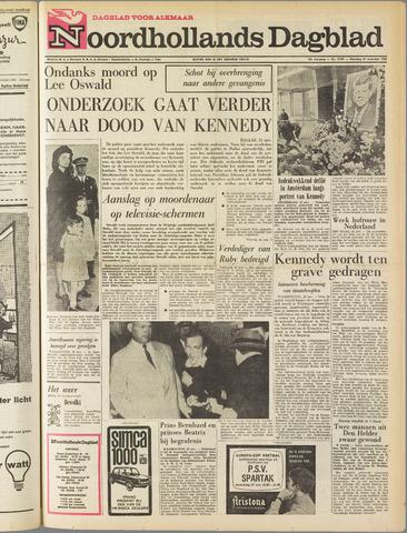 Noordhollands Dagblad : dagblad voor Alkmaar en omgeving 1963-11-25