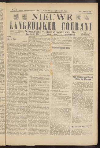 Nieuwe Langedijker Courant 1931-01-08