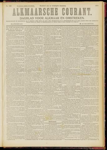 Alkmaarsche Courant 1919-08-23