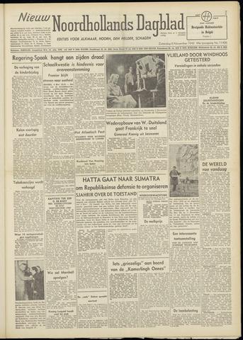 Nieuw Noordhollandsch Dagblad : voor Alkmaar en omgeving 1948-11-06