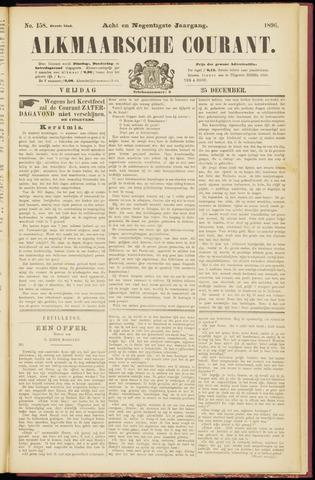 Alkmaarsche Courant 1896-12-25