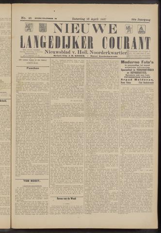 Nieuwe Langedijker Courant 1927-04-16