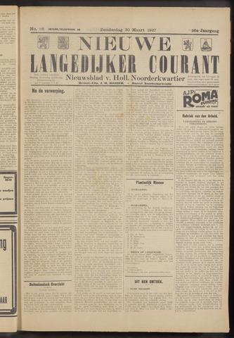 Nieuwe Langedijker Courant 1927-03-30