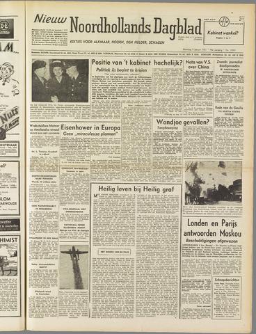 Nieuw Noordhollandsch Dagblad : voor Alkmaar en omgeving 1951-01-08