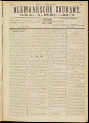 Alkmaarsche Courant 1910-07-02