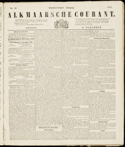 Alkmaarsche Courant 1874-11-15