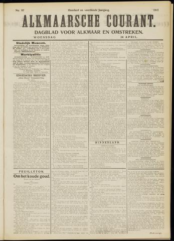 Alkmaarsche Courant 1912-04-24