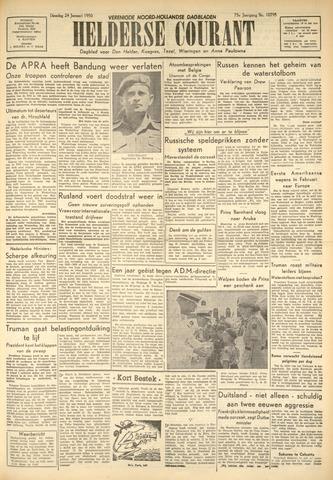 Heldersche Courant 1950-01-24