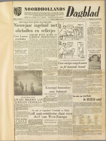 Noordhollands Dagblad : dagblad voor Alkmaar en omgeving 1960-01-02