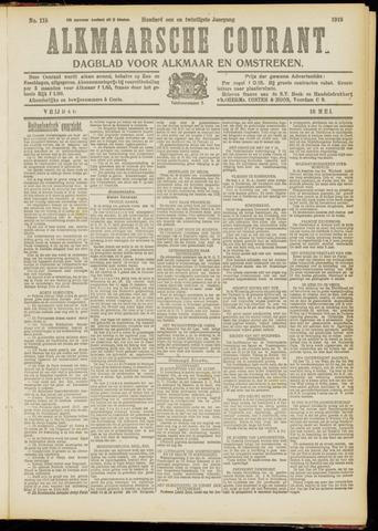 Alkmaarsche Courant 1919-05-16