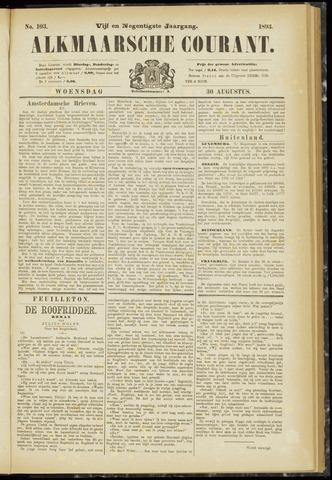 Alkmaarsche Courant 1893-08-30