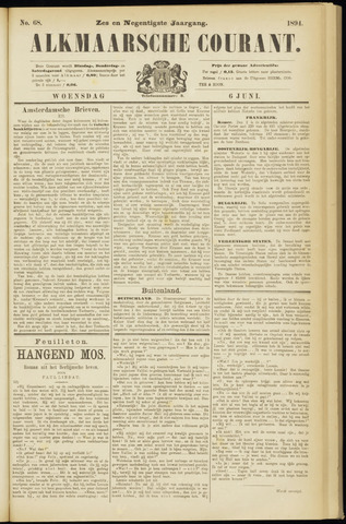 Alkmaarsche Courant 1894-06-06