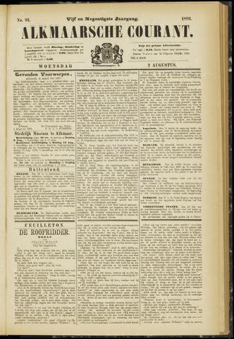 Alkmaarsche Courant 1893-08-02