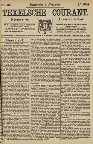 Texelsche Courant 1894-11-01