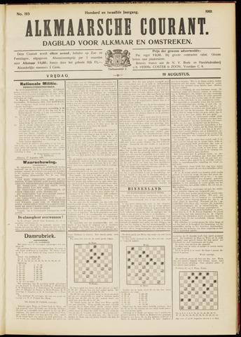 Alkmaarsche Courant 1910-08-19