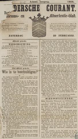 Heldersche Courant 1868-02-29