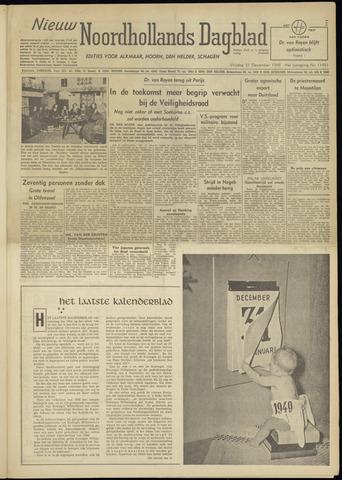 Nieuw Noordhollandsch Dagblad : voor Alkmaar en omgeving 1948-12-31