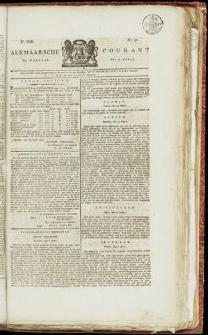 Alkmaarsche Courant 1825-04-18