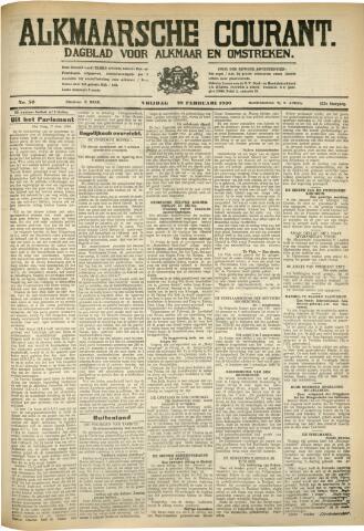 Alkmaarsche Courant 1930-02-28