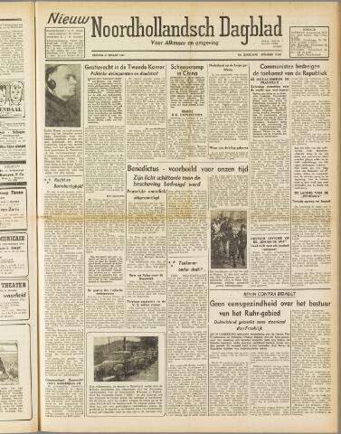 Nieuw Noordhollandsch Dagblad : voor Alkmaar en omgeving 1947-03-21