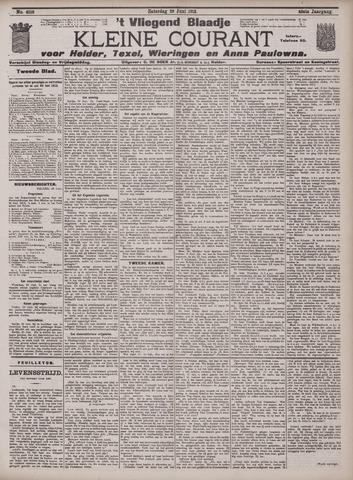Vliegend blaadje : nieuws- en advertentiebode voor Den Helder 1912-06-29