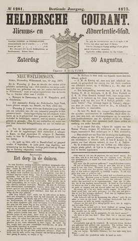 Heldersche Courant 1873-08-30