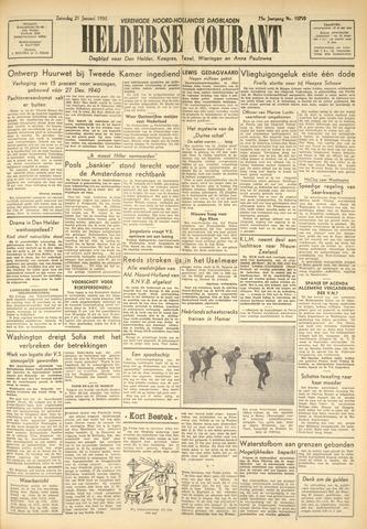 Heldersche Courant 1950-01-21