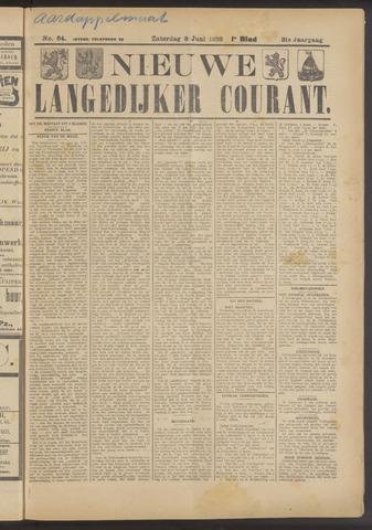 Nieuwe Langedijker Courant 1922-06-03